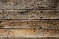 Wall made of wooden Royalty Free Stock Images