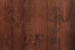 Wall made of wooden planks Royalty Free Stock Photo