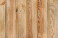 Wall made of wooden planks Royalty Free Stock Image