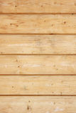 Wall made of wooden planks Stock Photo