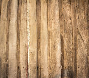 Wall made of wooden planks Stock Photos
