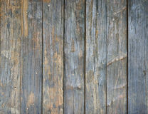 Wall made of wooden planks Stock Images