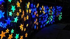 Wall of Many Stars Stock Photography