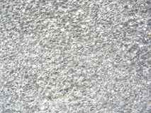 Wall of marble chips and concrete. stock photography