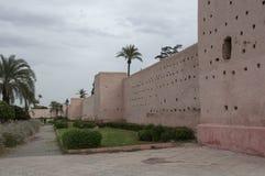 Wall of Marrakech Stock Photos