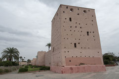 Wall of Marrakech Royalty Free Stock Images