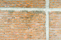 Wall masonry brick. Royalty Free Stock Images