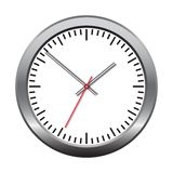 Wall mechanical clock. Royalty Free Stock Photo