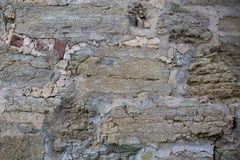 Wall of medieval fortress Royalty Free Stock Images