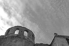 Wall of Medzhybizh castle, Ukraine Stock Image