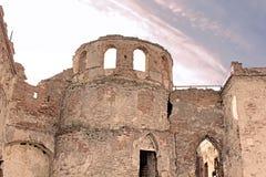 Wall of Medzhybizh castle, Ukraine Royalty Free Stock Photo