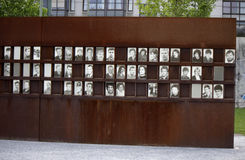 Wall Memorial. CIRCA MAY 2014, BERLIN: the Wall Memorial at the Bernauer Strasse in the Mitte district of Berlin Royalty Free Stock Photography