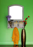 Wall mirror Stock Images