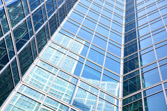 Wall of modern office building Royalty Free Stock Photography