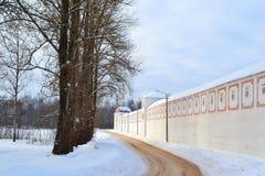 Wall of monastery Royalty Free Stock Photos