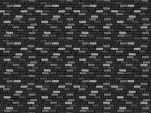 Wall. Monochrome wall with broken and cracked bricks Stock Photography