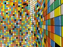 Wall of mosaic Royalty Free Stock Image