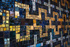 Wall mosaic decoration of Kirche (Church) am Hohenzollernplatz, Berlin Stock Images