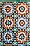 Wall mosaic pattern. Colorful wall mosaic pattern detail Royalty Free Stock Images