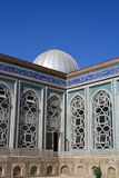 Wall of mosque. The wall of mosque at summer, Tajikistan Stock Photography