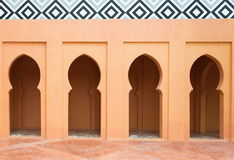 Wall of mosque Stock Image
