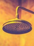 Wall mounted bath shower Stock Image