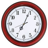 Wall-mounted clock Royalty Free Stock Photography
