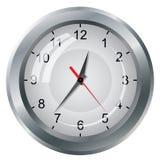 Wall mounted digital clock. Royalty Free Stock Images