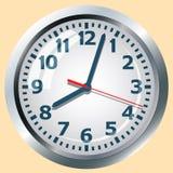 Wall mounted digital clock. Stock Image