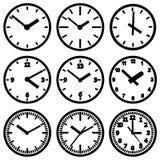 Wall mounted digital clock Royalty Free Stock Photo