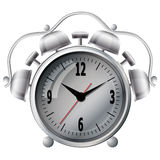 Wall mounted digital clock Stock Images