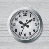 Wall mounted digital clock Royalty Free Stock Photos