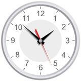 Wall mounted digital clock. royalty free illustration