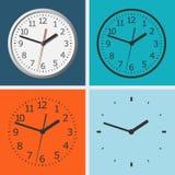 Wall mounted digital clock. Stock Photo