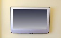 Wall mounted flat screen tv Stock Photos