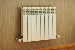 Wall mounted radiator Royalty Free Stock Photo