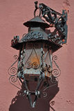 Wall-Mounted Spanish Style Vintage Lamp Royalty Free Stock Photography