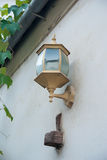 Wall Mounted Street Lamp Royalty Free Stock Photography