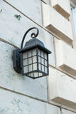 Wall Mounted Street Lamp Stock Image