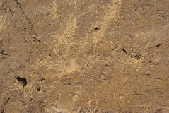 Wall of mud Stock Images