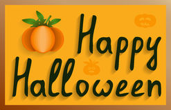 Wall mural happy Halloween Royalty Free Stock Photos