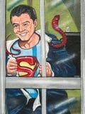 Wall mural, Superman Royalty Free Stock Photography