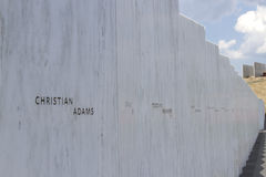 Wall of Names, Flight 93 Memorial Royalty Free Stock Photography