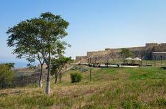 Wall in Naryn-Kala fortress. Derbent Royalty Free Stock Photo