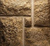 Wall of natural coquina. Stock Photo