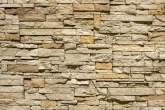 Wall of natural stone Stock Photos