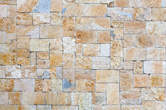 Wall of natural stone Stock Photography