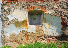 Wall with the niche Stock Images