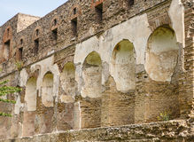 Wall Niches in Pompeii Stock Images
