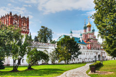 wall of the Novodevichy Convent Royalty Free Stock Images